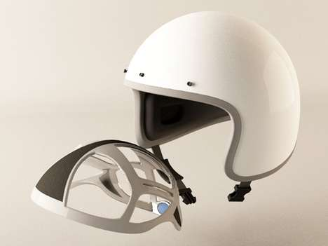 Inflatable Helmet Pad