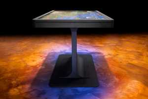 The MT55 Platform Multitouch Table is the Thinnest of Its Kind