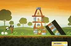 Game-Inspired Antacid Ads - The Gastrovet 2011 Campaign is Inspired by Angry Birds