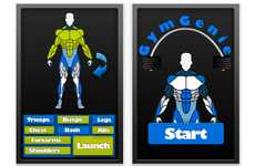 Boot Camp iPhone Apps - The Gym Genie App Acts as Your Virtual Personal Trainer