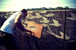The Dutch Ink 'Flight 101' Project Cleanses Old Walls Clean