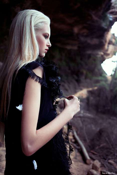 Spellbinding Cavewoman Photography - This Krystal Glynn Fashion Gone Rogue Shoot Runs Wild