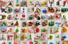 Miniature Knit Creations - Anna Hrachovec Knits One Design Per Week with the Tiny Challenge