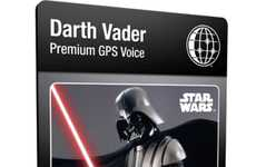 Intergalactic GPS Guides - Find Your Way Through the Galaxy with the Garmin Star Wars Voices
