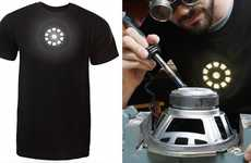 Arc Reactor Illuminated Tees