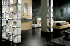Ceramic Wall Units Define Small Spaces