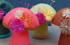 Vibrant Sewing Mushroom