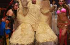 Marc Jacobs Crazy Camel Toe Christmas Costume