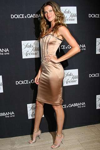 Gisele Designs for D&G