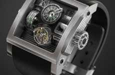 Vulcania Steampunk Watch by Fabrice Gonet