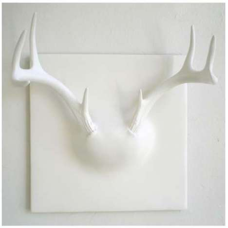 Fake Taxidermy Part VI - Ghost Antler Coat Rack