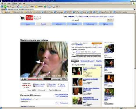 Smoking Ads on YouTube - Sneaky Tobacco Marketing