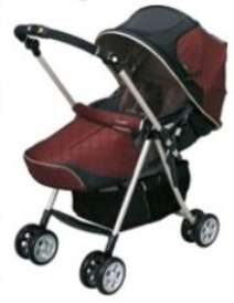 Temperature Controlled Baby Stroller - Combi LX-720 Buggy