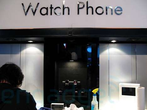New LG Watch Phone Unveiled (CES 2008)