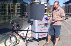Pollution Monitoring Via Cell Phone - Bike Messengers Collect Essential Data