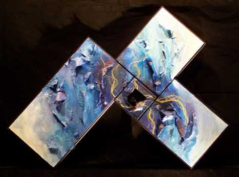 "Multi-Canvas Art - ""Polytychs"" by Artist Suzy Andron"