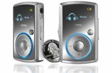 4GB MP3 Player Weighs Under 1 oz