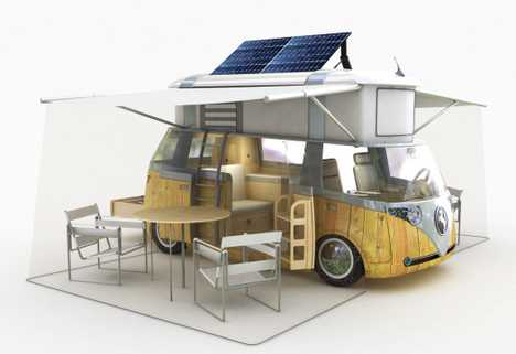 Eco-Retro - Retro VW Camper Goes Green