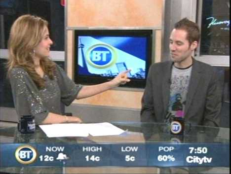 Breakfast Television (CityTV): Jeremy Gutsche on the 2008 Trend Report