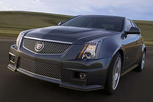 2009 Cadillac CTS-V With Corvette Engine