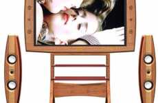 Natural Wood TV