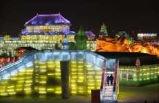 China's Ice Festival Features Canadian Theme - Harbin Ice Festival