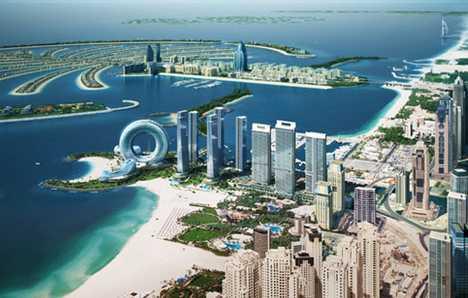 Wheel Shaped Hotel - Dubai Promenade