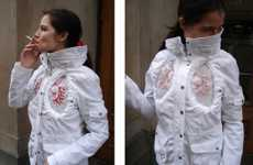 Hi-Tech Fashion Has Lungs - Smoking Jacket
