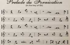 Musical Notes as Naughty Art?
