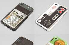 Throwback Mobile Covers - Fred and Friends Flashback iPhone Case Brings Back the Old-School