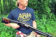 Badass Pump-Action Shotguns - Creek Stewart Creates the Ultimate Survival Tool