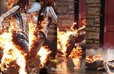 Enflamed Stunt Commercials