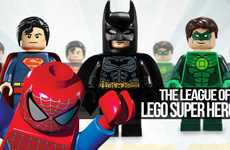 Bricked Comic Figurines - LEGO Super Heroes Collides the World of Marvel and DC