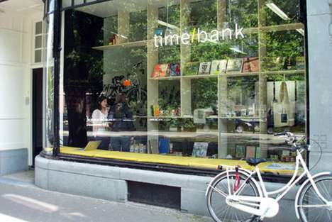 Time-Based Bartering - The Time/Bank Pop-Up Shop Trades Minutes Instead of Money