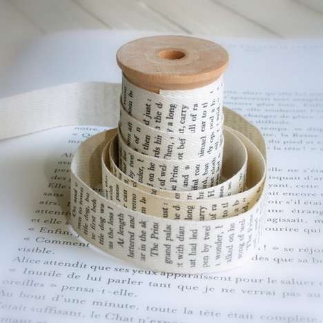 Old Book Cotton Tape