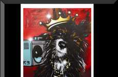 Graffiti Pet Portraits