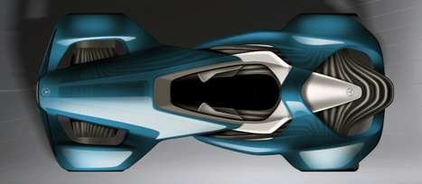 Touch Effect Concept Car