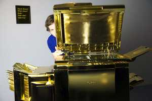 Yogi Proctor Creates an Office Machine Worth Its Weight in Gold