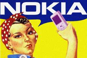 Worth1000 Vintage Ads 7 Contest Brings Cell Phones to the 40s