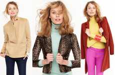 Color-Blocked Casualwear Catalogs