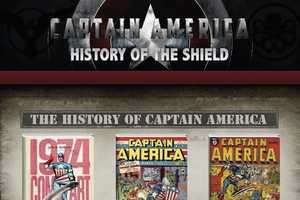 This Captain America Infographic Tracks the History of the Shield