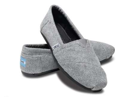 Celeb Twin Shoe Collabs - The TOMS + The Row Collection Offers Some Comfy Couture