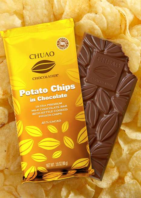 Potato Chips in Chocolate