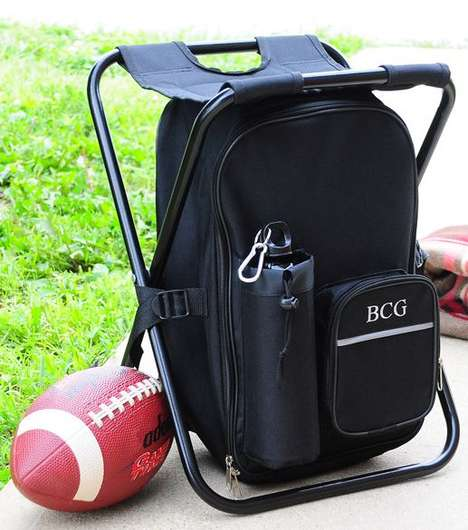 Tailgating Backpack Cooler Chair