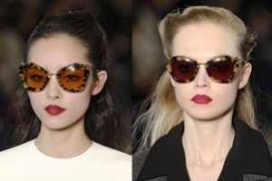 The Miu Miu Fall 2011 Sunglasses Collection is a Throwback to the 40s