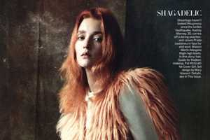 August 2011 Vogue Steven Miesel Double Take Editorial Plays with Style
