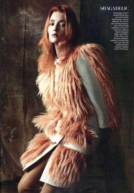 August 2011 Vogue Steven Meisel Double Take