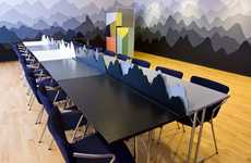 Mountainous Meeting Rooms - The DGI-byen Conference Room is Colorful and Quirky