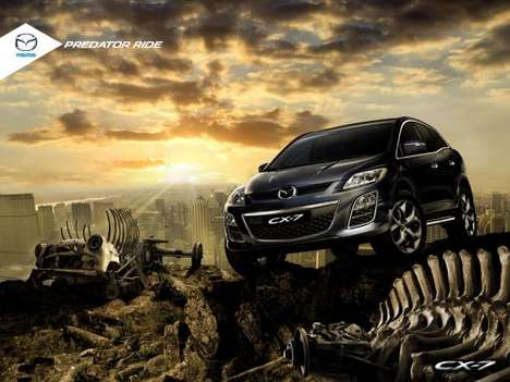 Mazda CX7 Predator Ride Ads