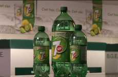 Real Green Soda Containers - 7Up EcoGreen Bottle is the Most Eco-Friendly Bottle on the Market